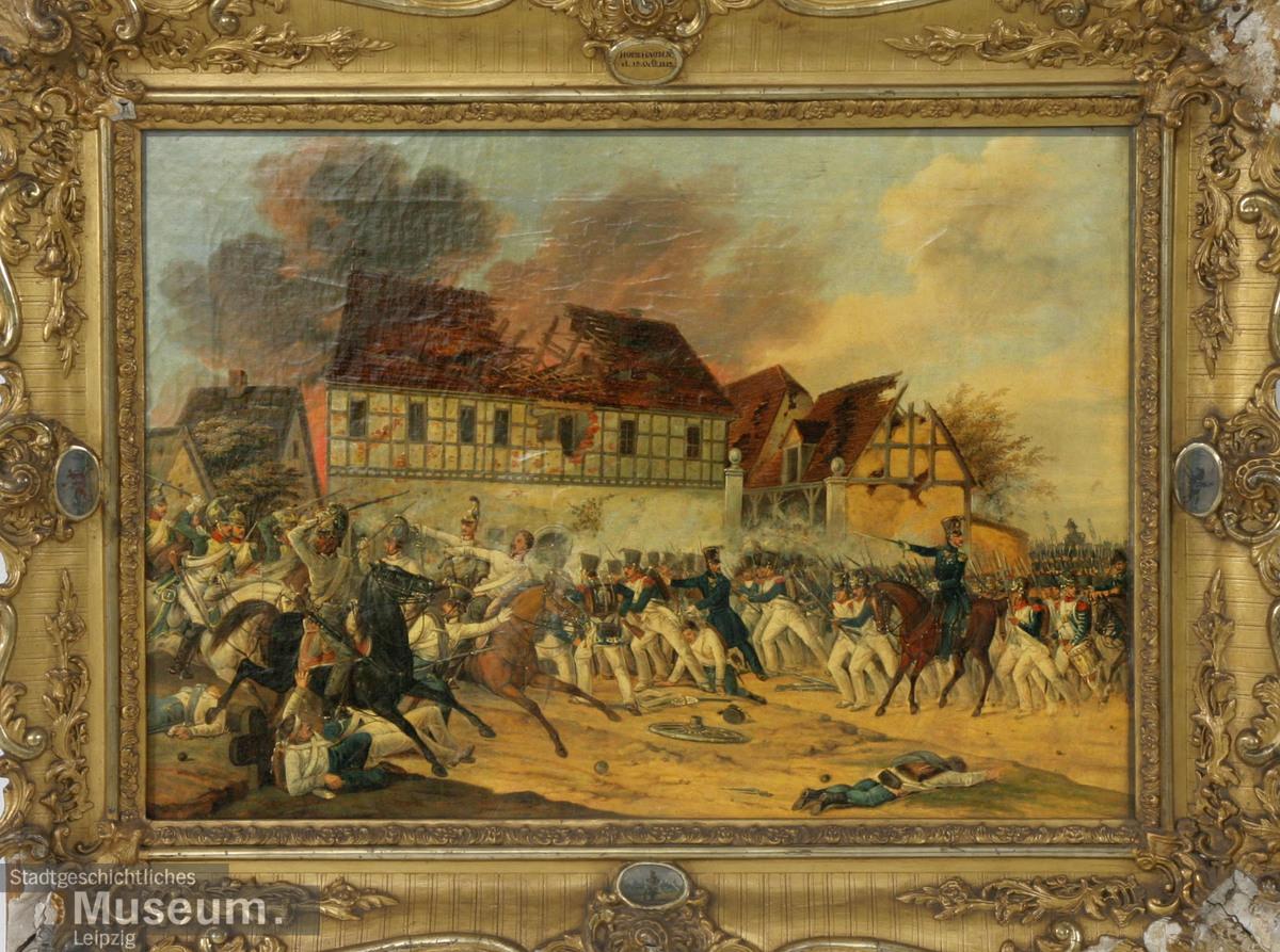 Digitale Fundsache: Gefecht bei Holzhausen 18.10.1813